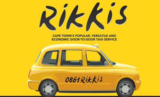Cape Town travel made easy: for only R99 receive R200 worth of Rikki Rands from Rikkis, Cape Town's most economical, popular and versatile door-to-door taxi service