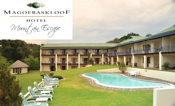For only R549 treat yourself and a partner to a tranquil getaway at the Magoesbaskloof Hotel: a one night stay for 2 people including breakfast (value R1198)