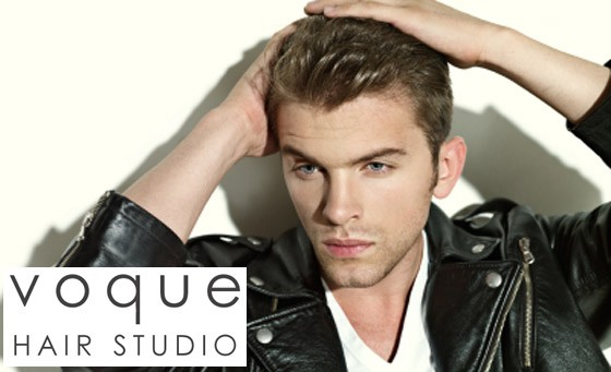 Spoil your man with Voque Hair Studio: for only R99 enjoy a gents hair cut plus a R100 bonus voucher towards a gents colour (value R300)