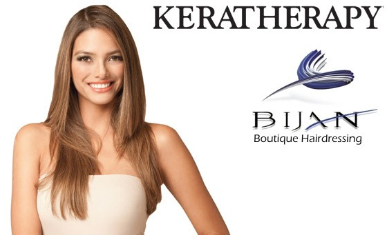 Get sleek and smooth hair today with Bijan Boutique Hairdressing: R249 gets you a wash, cut and blow-dry with Keratin leave-in treatment by Keratherapy and bonus (value R785)
