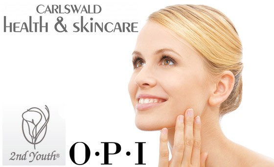Get your pampering on with Carlswald Health and Skin Care. For only R149 enjoy a 60-min Rejuvenation facial by 2nd Youth incl 30-min Express Mani by O.P.I plus bonus (value R510)