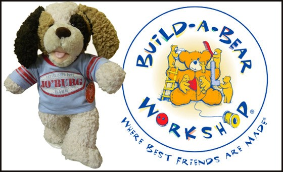 Build-A-Bear Workshop® is always a child's favourite. Spoil that little special one with a cuddly Shaggy Pup for just R99 including T-shirt and more at Sandton City and East Rand stores