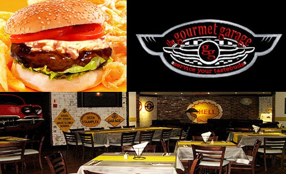 Pay just R75 and receive R150 off your food bill when ordering ANY 2 burgers at The Gourmet Garage in Montecasino (save 50%)