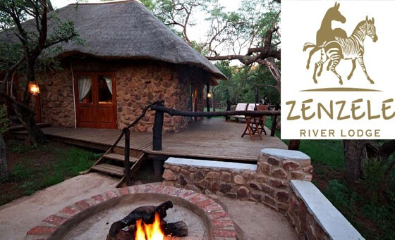 Indulge in Mother Nature at her finest at Zenzele River Lodge. Pay just R1999 for a 2 night stay for 2 people in 4-star luxury, including breakfast and dinner plus game drive and more (value R5250)