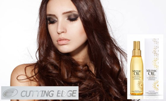 Get that update do in time for summer with Cutting Edge: R99 gets you a wash, L'Oreal Professional Mythic Oil treatment and blow dry (value R320)