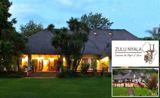 A magical mix of worlds at Zulu Nyala Country Manor, combining big city glamour with a luxury country escape. Just R699 for a getaway for 2 incl breakfast and bottle of wine (value R1920)