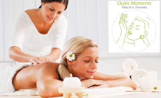 Pure luxury at Quiet Moments Health and Skincare: Enjoy a 60-minute, full body massage plus bonus for just R149 (value R395)