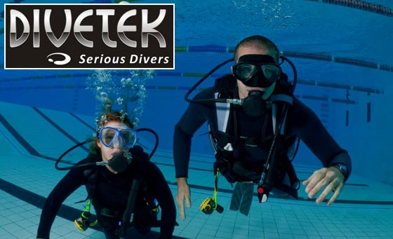 Learn the basics of Scuba diving with Divetek: An Intensive Introduction to Scuba Diving for just R199, including all gear and equipment and bonus (value R1400)