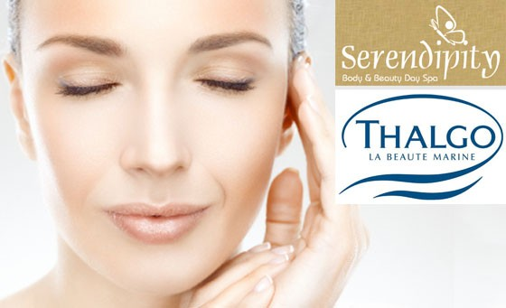 Enjoy a pleasant surprise at Serendipity Body and Beauty Spa. Get some TLC with a 60-min Thalgo Deep Double Cleanse Facial with steam and Galvanic Treatment incl foot massage and bonus – just R129 (value R420)