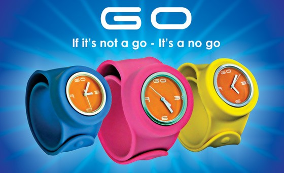 Mix and Match with GO MIX Watches: for only R149 get 2 GO MIX Rubber Slap-on watches. Choose the two straps, available in 10 different colours. Unisex watches ideal for adults and children. Delivery included. (value R600)