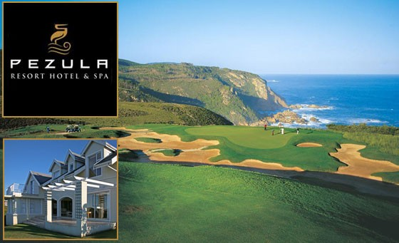 World class golf destination at Pezula Golf Estate: just R999 for a getaway for 6-8 people in a luxury self-catering villa, incl golf bonus (value R2500)