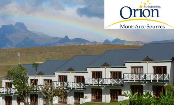 Awesome value Drakensberg getaway to Orion Mont-Aux-Sources Hotel. Just R899 for deluxe stay for 2 incl breakfast, DINNER, bottle of wine on arrival and more (value R2353)