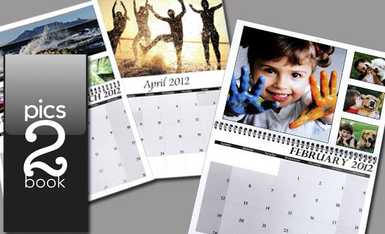 Personalise 2013 with your favourite memories with Pics2book. Only R149 for a high quality A3 Calendar with different pics for each month. Great for home, office or as a gift (value R299)