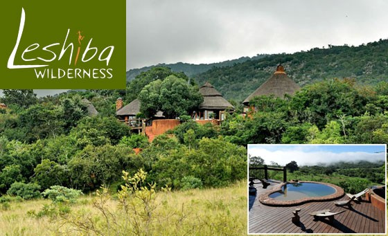 Magical TWO night getaway for 2 to Leshiba Wilderness in the spectacular Soutpansberg Mountains, 480kms from JHB, incl meals, guided game drive, unforgettable bush walk + more for R2999 (value R7000)