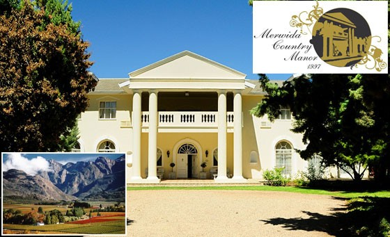Old world charm meets modern comforts at Merwida Country Manor just 90mins from Cape Town. Only R299 for a night for 2 incl breakfast, bottle of wine on arrival, wine tasting + more (value R765)