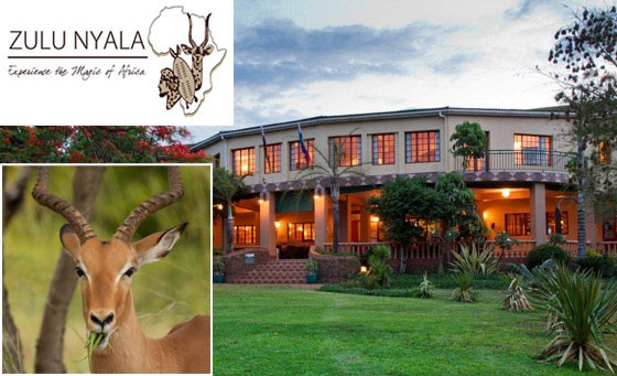 Save a huge 79% on the ultimate Tented Safari getaway at Zulu Nyala Heritage Safari Lodge, just 3hrs from Durban. Only R799 for 2 incl breakfast AND dinner + more (value R3780)