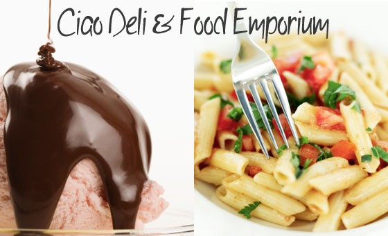 Indulge in a delicious, authentic bite of Italy right on your doorstep, courtesy of Ciao Deli & Food Emporium: select any 2 delectable pastas for 2 people + 2 decadent Italian Ice Cream desserts, only R99 (value R210)