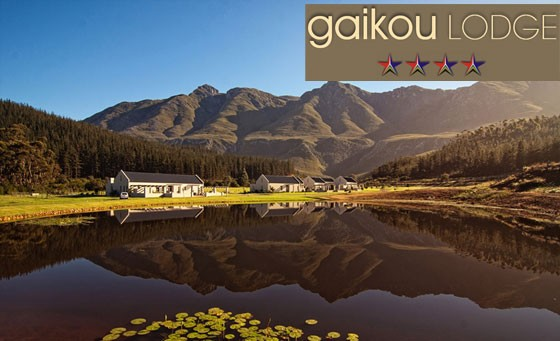 Unwind at the majestic 4-Star Gaikou Lodge: spend a relaxing 2-night escape for 2 people including an appetising continental breakfast for only R1299 (value R2600)