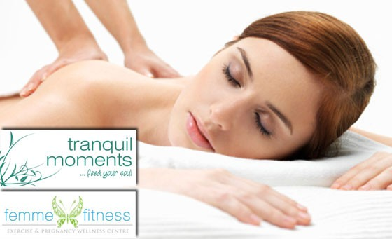 Pamper yourself with a 45 min Full Body Deep Tissue Sports Massage incl a 30 min Express Facial PLUS a Head Massage and BONUS from Femme Fitness for R249 (value R750)