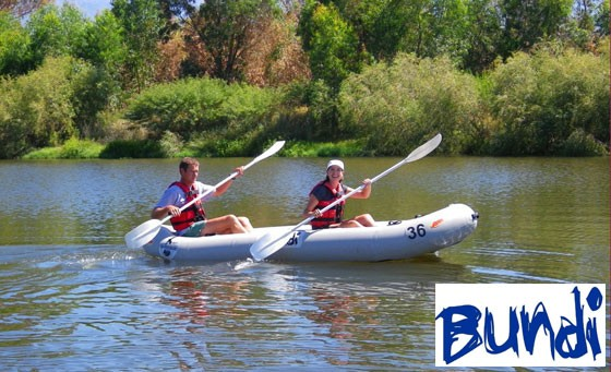 An exhilarating Breede River Adventure with Bundi: half-day of rafting, 1 night's accommodation, 3 meals, professional guide AND equipment for 1 person at only R399 (value R940) + R200 bonus voucher towards the Orange River Rafting