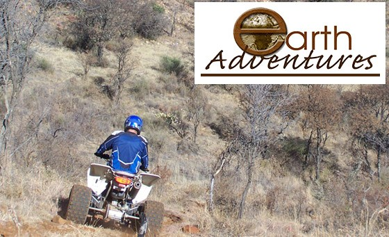 What better way to explore the winding terrain of the Vredefort Dome than enjoying an hour long Quad Biking Trail Adventure for 1 person incl equipment, access fees, bottled water & gear with Earth Adventures. Only R149 (value R450)