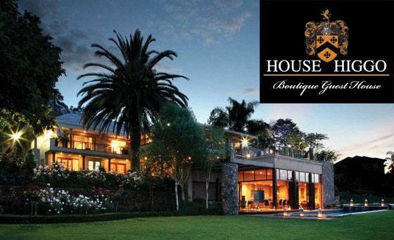 Set the mood and experience the elegant 4-star House Higgo Boutique Guest House: Enjoy a romantic overnight stay for 2 incl a breakfast, the choice between an intimate candlelit dinner or exciting picnic, full use of the Jacuzzi and more for only R799