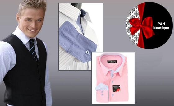 Embody suave sophistication with P&H Boutique: Pay just R49 and receive R500 towards men's luxurious, pure Egyptian cotton shirts and golf shirts, the epitomy of quality menswear