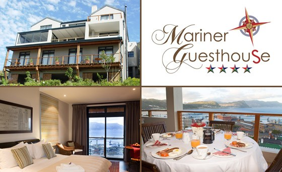 Peace from the madding crowd awaits you at the 4-star Mariner Guesthouse in Simon's Town! An escape for 2 ppl incl. breakfast and a fantastic BONUS VOUCHER for only R599 (value R1400)