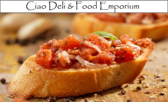 A tantalising taste of Italy right on your doorstep! Ciao Deli & Food Emporium offers you a choice of any Panini, Bruschetta or salad for FOUR ppl AND a choice of selected beverages! Sit-down or take-away, only R129 (value R210)