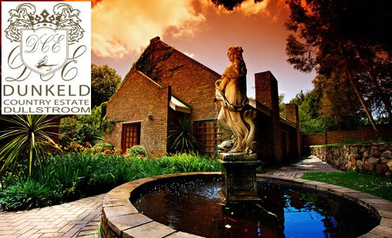 Discover the tranquil wonder of Dunkeld Country Estate: Pay R1199 for an overnight stay for 2 including breakfast, a 30-min leg & foot massage p/p, a bottle of wine + BONUSES (valued at R2800)