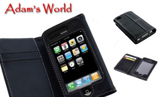 Protect your iPhone 4 & 5 with your very own stylish, PU Leather iPhone Wallet from Adam's World, delivered TO YOUR DOOR! It holds your precious gadget AND your cards! Available in black! Only R149 (value R299)