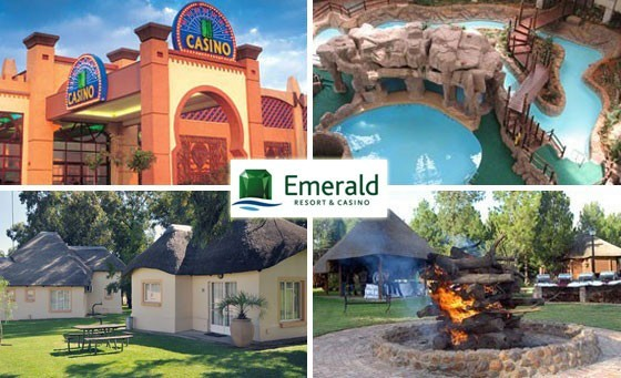 Everyone wins at Vaal River Emerald Resort and Casino. Action packed night for 2 adults and 2 kids + Passport to Leisure at this fun-filled family retreat! At only R649 that is less than R165 per person (value R1395)
