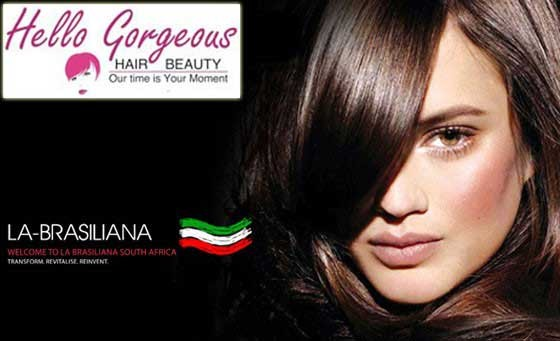 Beat the frizz this summer with Hello Gorgeous! Only R399 for a 90-min FORMALDEHYDE-FREE La-Brasiliana Blow Wave available in 2 formulas & MORE! Conveniently situated in the heart of Claremont (value R1200)