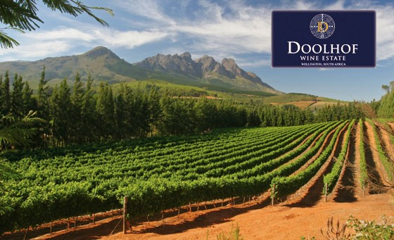 Enjoy a taste of the Cape Winelands at Doolhof Wine Estate. For just R179 enjoy an exceptional wine tasting for 2 (five wines) including a picnic basket for 2 and a bottle of Cape Robin Rose 2011 and more