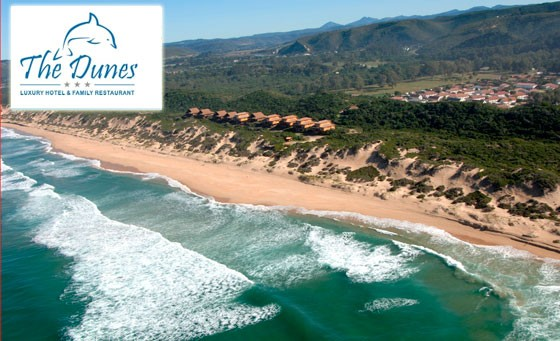 Spend some time in the glorious Garden Route at The Dunes Resort. For just R399 enjoy a stay for two ppl incl breakfast and a complimentary bottle of wine when ordering two mains at the restaurant. Situated in Keurboomstrand, approx 10 min from Plett Bay