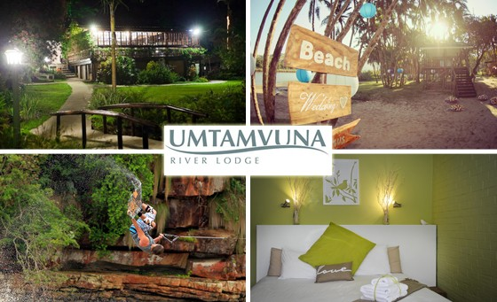 A majestic tropical paradise awaits you and your partner at the Umtamvuna River Lodge, just an hour and a half from Durban and 7 min from Wild Coast Sun. Only R899 for a TWO NIGHT stay including breakfast. Valued at R2100