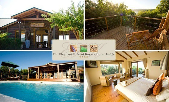 With sprawling views of the Knysna Lagoon, the 4-star Elephant Hide of Knsyna Guest Lodge offers you & a partner a luxury overnight accommodation experience and more, only R799! SENSATIONAL LOCATION!
