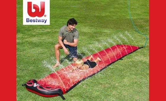 Keep your kids entertained for hours with the Speedway Friends Water Slide, only R149! INCL FREE NATIONAL DELIVERY