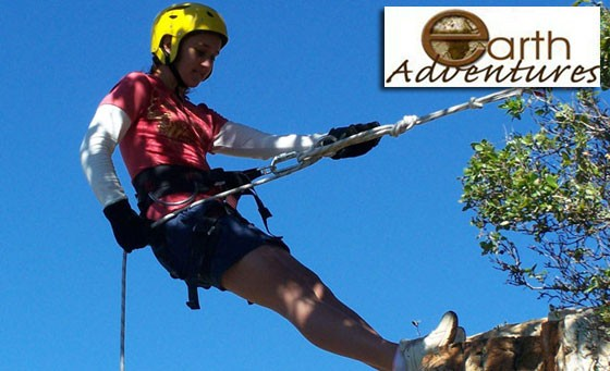 Experience an adrenalin pumping abseiling adventure with Earth Adventures in Parys, only R149! Enjoy the rush by conquering one the following exciting sites: Quarry abseiling- 10m, 15m, 45m, Man made tower- 12m & Natural cliff- 16m!