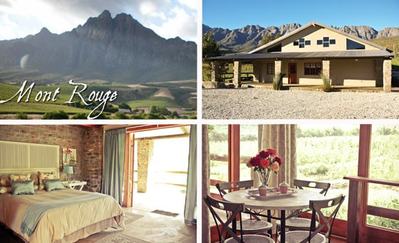 Indulge in a wonderful country retreat to Mont Rouge, situated on a working fruit farm in Tulbagh. Enjoy an overnight stay for 2 people in one of three self-catering cottages with lovely views and more for only R599. Just 90 minutes from Cape Town