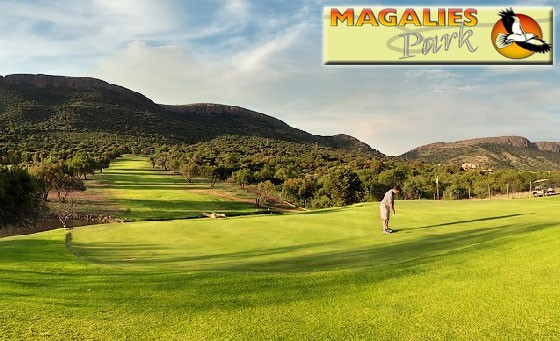 Tee off with 3 of your friends at Magalies Park Country Club, situated in Hartebeespoort – enjoy an 18-hole 4 ball golf adventure with 2 golf carts for 4 people for only R399