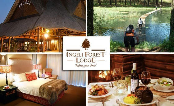 Escape to the tranquil and majestic Ingeli Forest Lodge, nestled below the Ingeli Mountain range and surrounded by breath taking indigenous forests for a Weekend TWO NIGHT stay for two incl breakfast, only R999. Two and a half hours from DBN