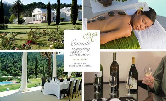 Treat yourself and a partner to 1-night of ultimate relaxation at the Cascade Country Manor, only R999! Incl breakfast, a full body massage pp & MORE! Just 50 min from CT