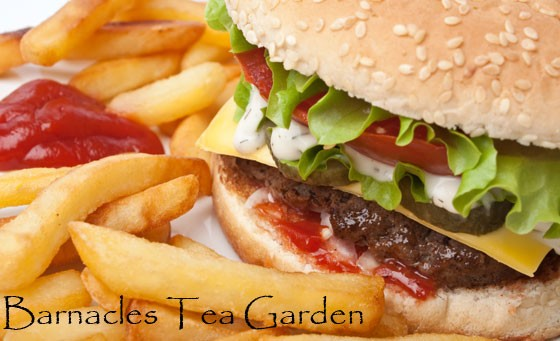 You can't deny the satisfaction of a good burger! Bring your family or friends and enjoy 4 Home-made Beef Burgers and Chips at Barnacles Tea Garden, just 15km from PE for only R109