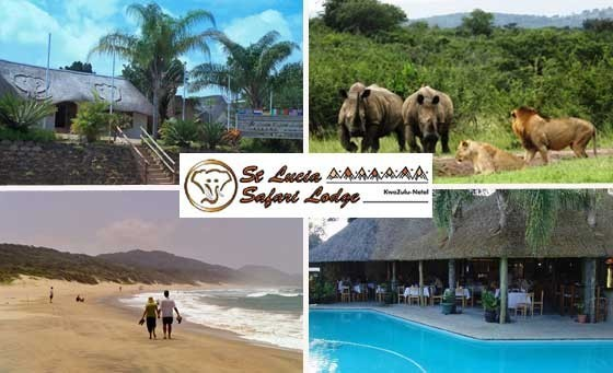 Experience a TWO-NIGHT exotic escape with your partner at St Lucia Safari Lodge in KwaZulu-Natal, only R799! Enjoy a scrumptious breakfast & more! Just 3 hours from DBN