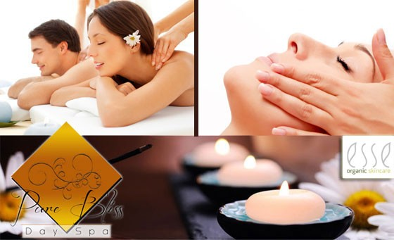 Luxurious pampering session with a loved one at Pure Bliss Day Spa, situated in Centurion: a half day spa package for 2, incl 60-min Hot Stone Full Body massages, a 60-min Deep Cleanse Detox facial and a 30-min foot scrub and massage with refreshments and