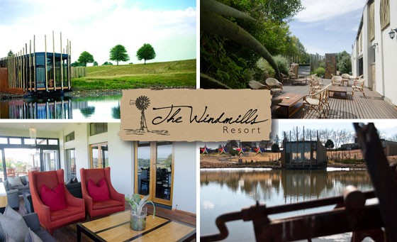 Old-world charm meets modern comfort at the award-winning 4-star Windmills Resort, adjacent to the Blue Crane Private Game Reserve! Only R999 affords you a TWO-NIGHT stay for 2 incl Continental Bfast, a R150 FUEL VOUCHER and more