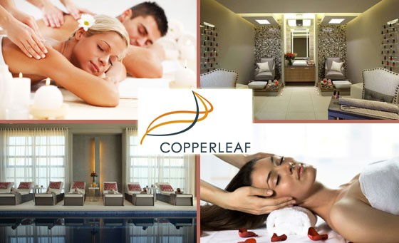 Luxurious relaxation & unrivalled service await at the exclusive Copperleaf Spa & Gym situated at Copperleaf, home to SA's 1st Els Club! Only R999 for 2 ppl to enjoy a Half-Day Spa Package inc x2 60-min Hot Oil Full Body Massages & MORE! Located in Mnandi