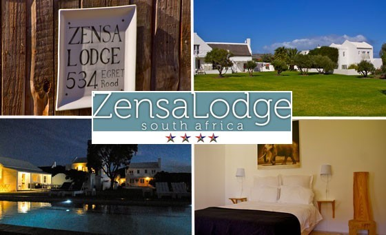 Experience the 'welcoming' and 'friendly' (TripAdvisor) Beach Getaway at the 4-star Zensa Lodge, just 45mins from Cape Town. Only R899 for you & a partner to enjoy a TWO-NIGHT stay including breakfast & MORE (value R2750)