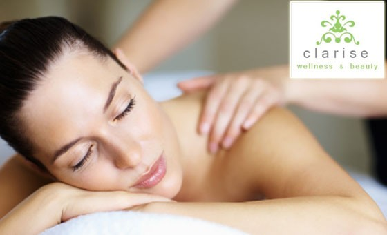 Take your mind, body and soul to new heights of relaxation, compliments of Clarise Wellness: Only R299 for 60-min Full Body Massage, a 45-minute Hydrating Facial, 45-min Advanced Hydrating and Exfoliating Body Treatment and more